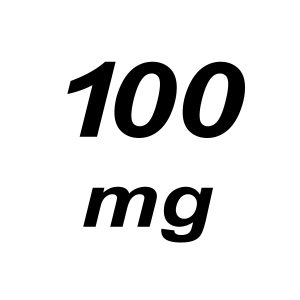 100mg