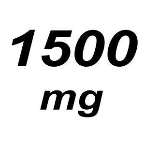 1500mg