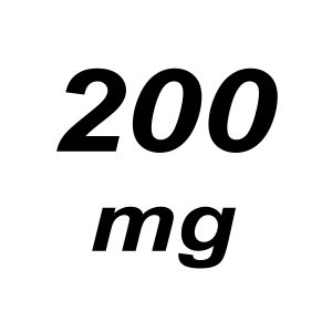 200mg THC