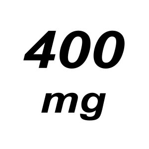 400mg THC