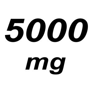 5000mg