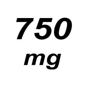 750mg